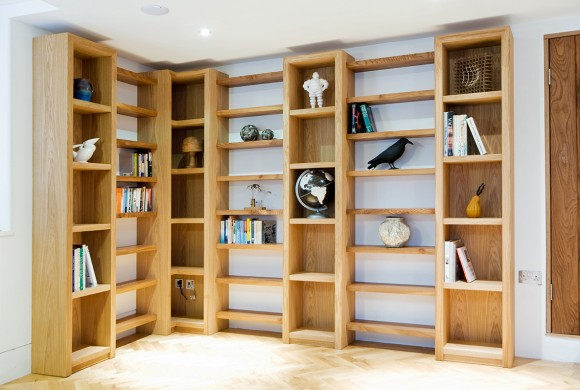 Oak and Elm Shelves
