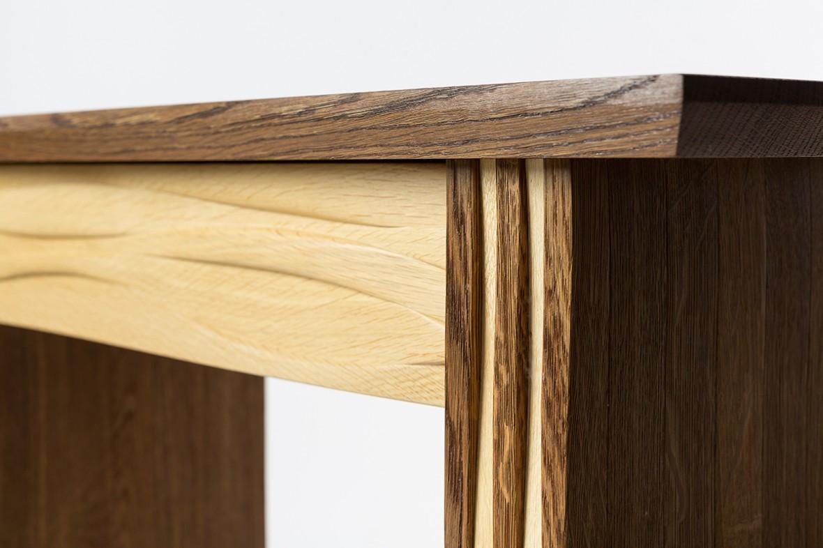 bespoke furniture cornwall, Hartland console table, Made in Redruth, Cornwall