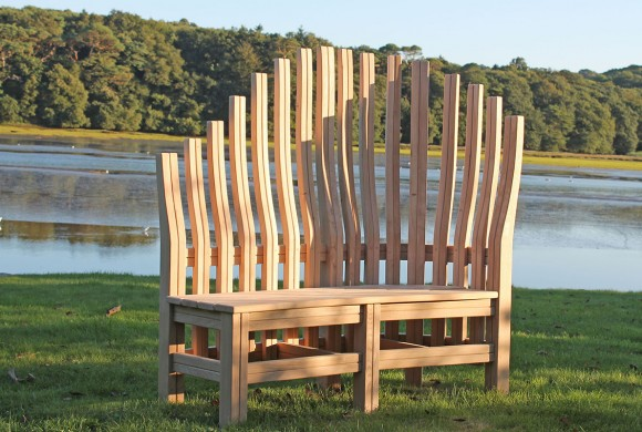 Garden Bench Bespoke Garden Furniture Cornwall Samuel F