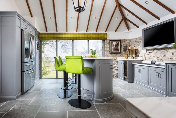 Hand-painted Cottage Kitchen